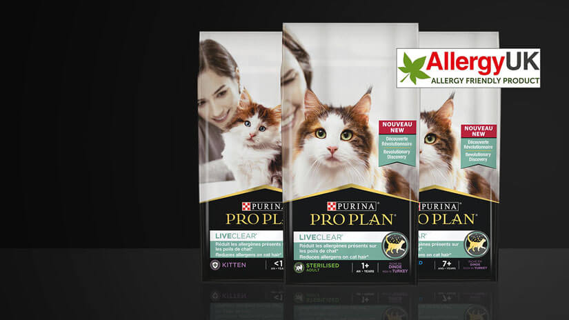 Pro Plan Liveclear products