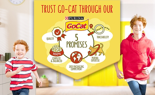 Go Cat's 5 Promises Hero Image