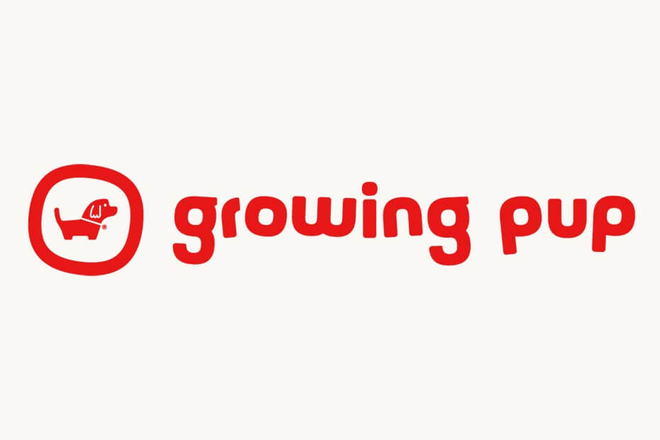 Growing Pup logo