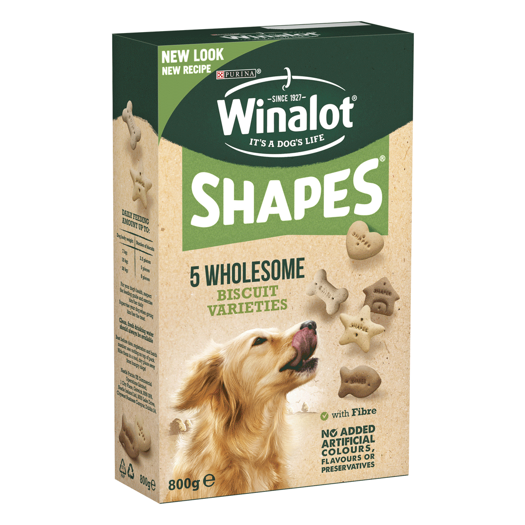 Winalot Shapes Dog Biscuits New Recipe