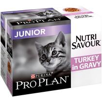 PRO PLAN Housecat NUTRISAVOUR Salmon in Gravy Wet Cat Food
