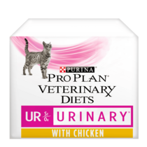 PRO PLAN VETERINARY DIETS UR Urinary Chicken Wet Cat Food Pouch