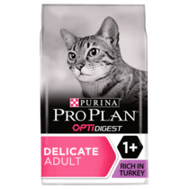 PRO PLAN Sensitive Digestion Turkey Dry Cat Food