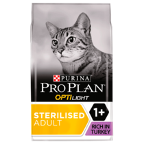 PRO PLAN Light Weight Management Turkey Dry Cat Food