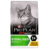 PRO PLAN Sensitive Digestion Sterilised Chicken Dry Cat Food