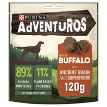 ADVENTUROS Ancient Grains Buffalo Dog Treats
