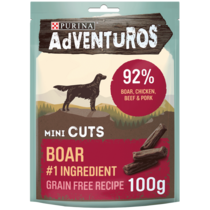 AdVENTuROS Mini Cuts Boar Dog Treats