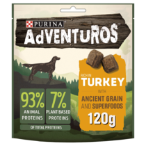 ADVENTUROS Ancient Grains Turkey Dog Treats