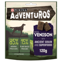 ADVENTUROS Ancient Grains Venison Dog Treats
