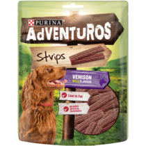 ADVENTUROS® Strips Venison Dog Treats