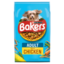 Bakers adult chicken and vegetables
