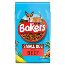 BAKERS® Small Dog Beef with Vegetables Dry Dog Food