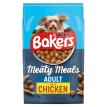 BAKERS® Meaty Meals™ with Chicken Adult Dry Dog Food