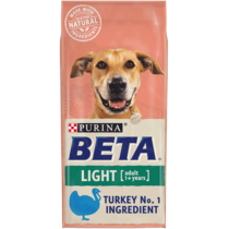 BETA® Light Turkey Dry Dog Food