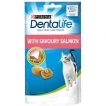 DENTALIFE Dental Salmon Cat Treats