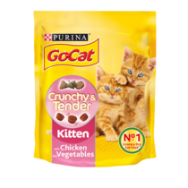 GO-CAT Crunchy and Tender Kitten Chicken Dry Cat Food