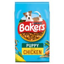 BAKERS® Puppy Chicken with Vegetables Dry Dog Food