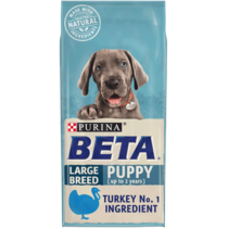 BETA® Puppy Large Breed Turkey Dry Dog Food