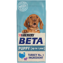BETA® Puppy Turkey and Lamb Dry Dog Food