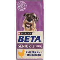 BETA® Senior Chicken Dry Dog Food