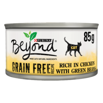 BEYOND® Grain Free Mousse Chicken with Green Beans Wet Cat Food