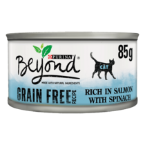 BEYOND® Grain Free Salmon with Spinach Wet Cat Food