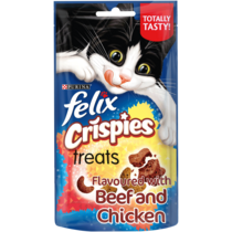 FELIX® Crispies Beef and Chicken Cat Treats