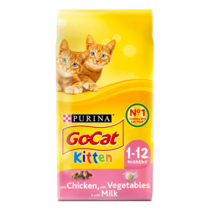 GO-CAT® Kitten Chicken and Milk Dry Cat Food