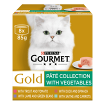 GOURMET® Gold Pate Collection Wet Cat Food