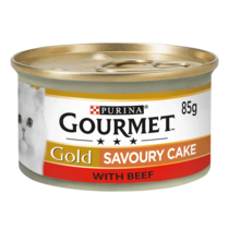 GOURMET® Gold Savoury Cake Beef Wet Cat Food