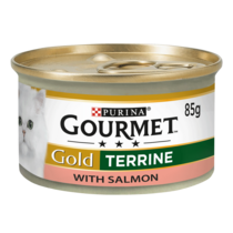 GOURMET® Gold Terrine Salmon Wet Cat Food