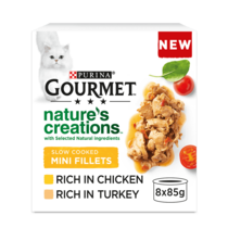 GOURMET® Nature's Creations Poultry Wet Cat Food