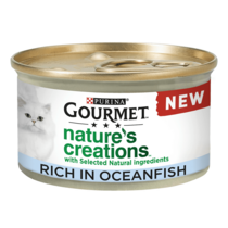 GOURMET® Nature's Creations Fish Wet Cat Food