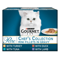 GOURMET® Perle Chef's Collection in Gravy Wet Cat Food