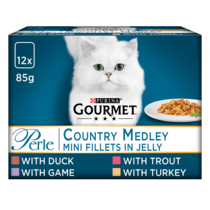 GOURMET® Perle Country Medley in Jelly Wet Cat Food