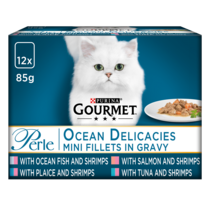 GOURMET® Perle Ocean Delicacies in Gravy Wet Cat Food