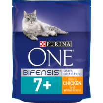 PURINA ONE® Senior 7+ Chicken and Wholegrain Dry Cat Food