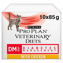 PRO PLAN® VETERINARY DIETS DM Diabetes Management with Chicken Wet Cat Food Can