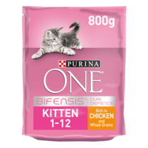 PURINA ONE® Kitten Chicken and Whole Grains Dry Cat Food