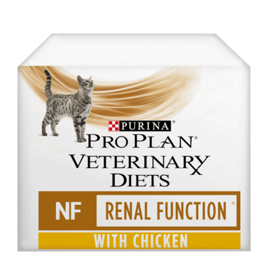 PRO PLAN VETERINARY DIETS NF Renal Function Chicken Wet Cat Food Pouch
