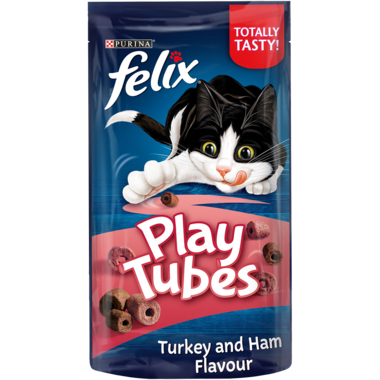 FELIX Play Tubes Turkey and Ham Cat Treats