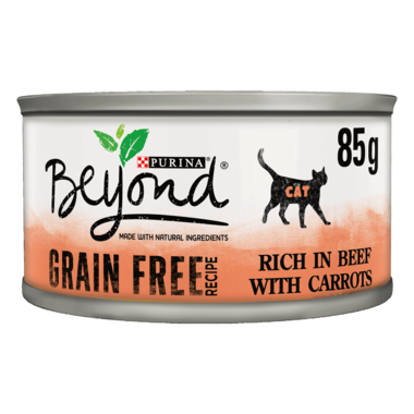 BEYOND® Grain Free Beef with Carrots Wet Cat Food