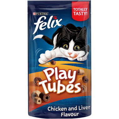 FELIX® Play Tubes Chicken and Liver Cat Treats