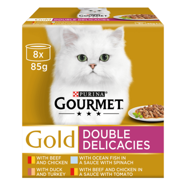 GOURMET® Gold Double Delicacies Wet Cat Food