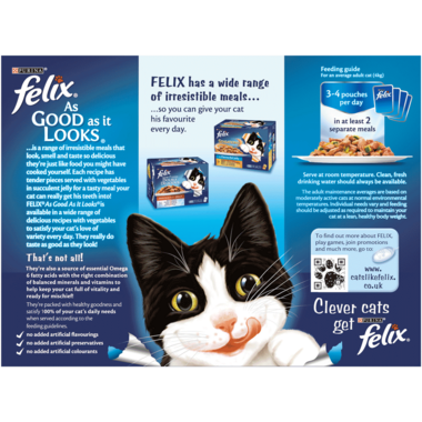 FELIX® As Good As it Looks Vegetable Selection Wet Cat Food